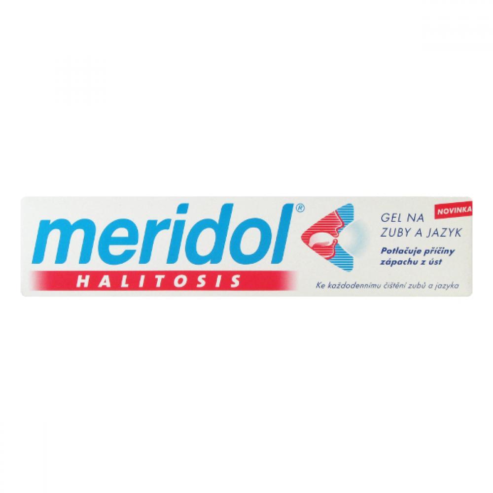 Meridol Halitosis pasta na zuby a jazyk 75 ml