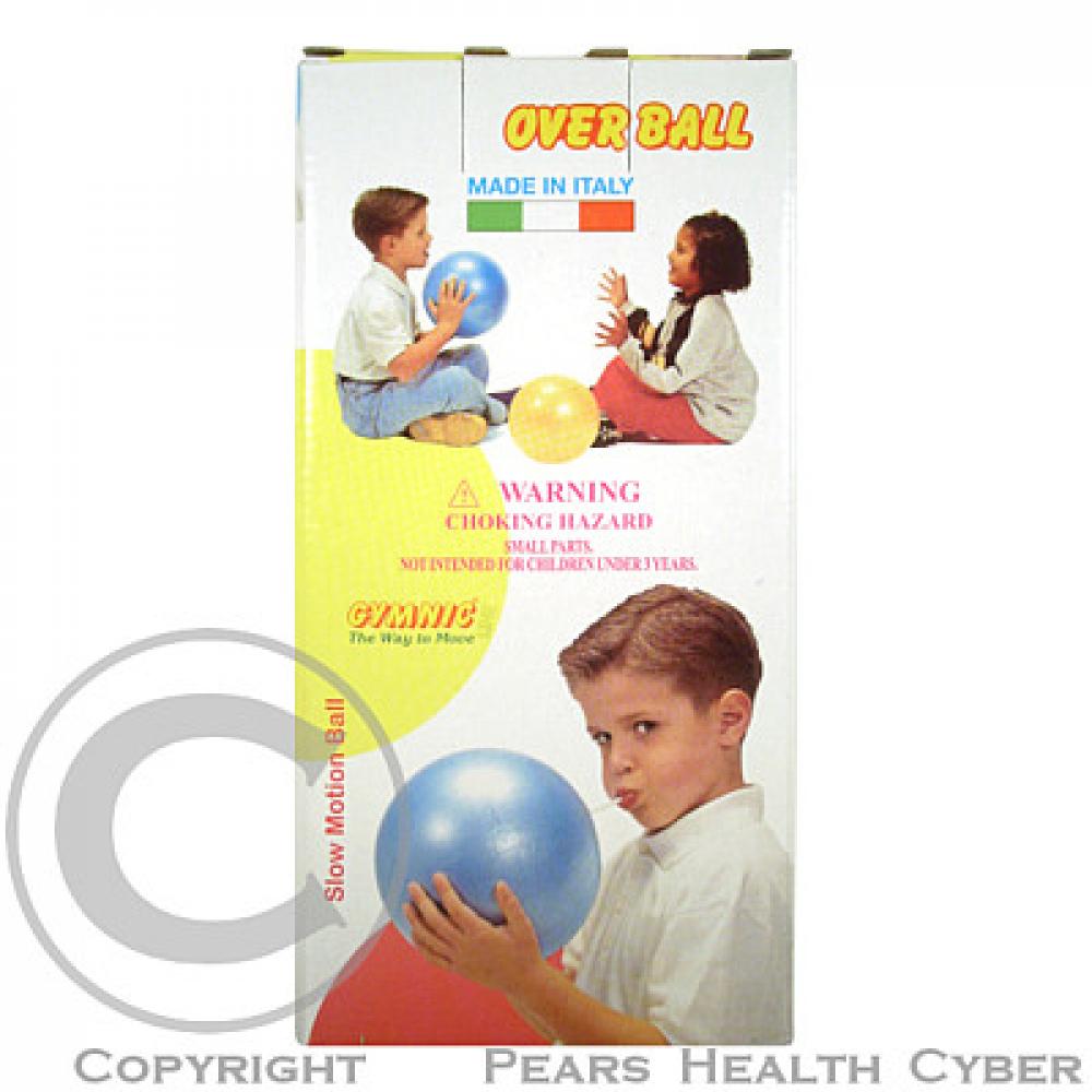 Míč rehabilitační Overball průměr 25 cm