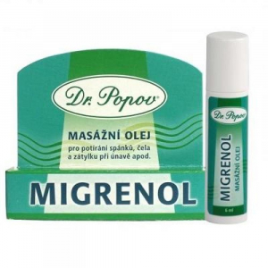 DR. POPOV Migrenol roll–on 6 ml