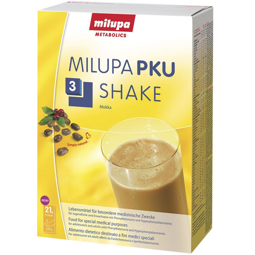 MILUPA PKU 3 SHAKE MOCCA Prášek pro roztok