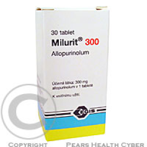 MILURIT 300  30X300MG Tablety