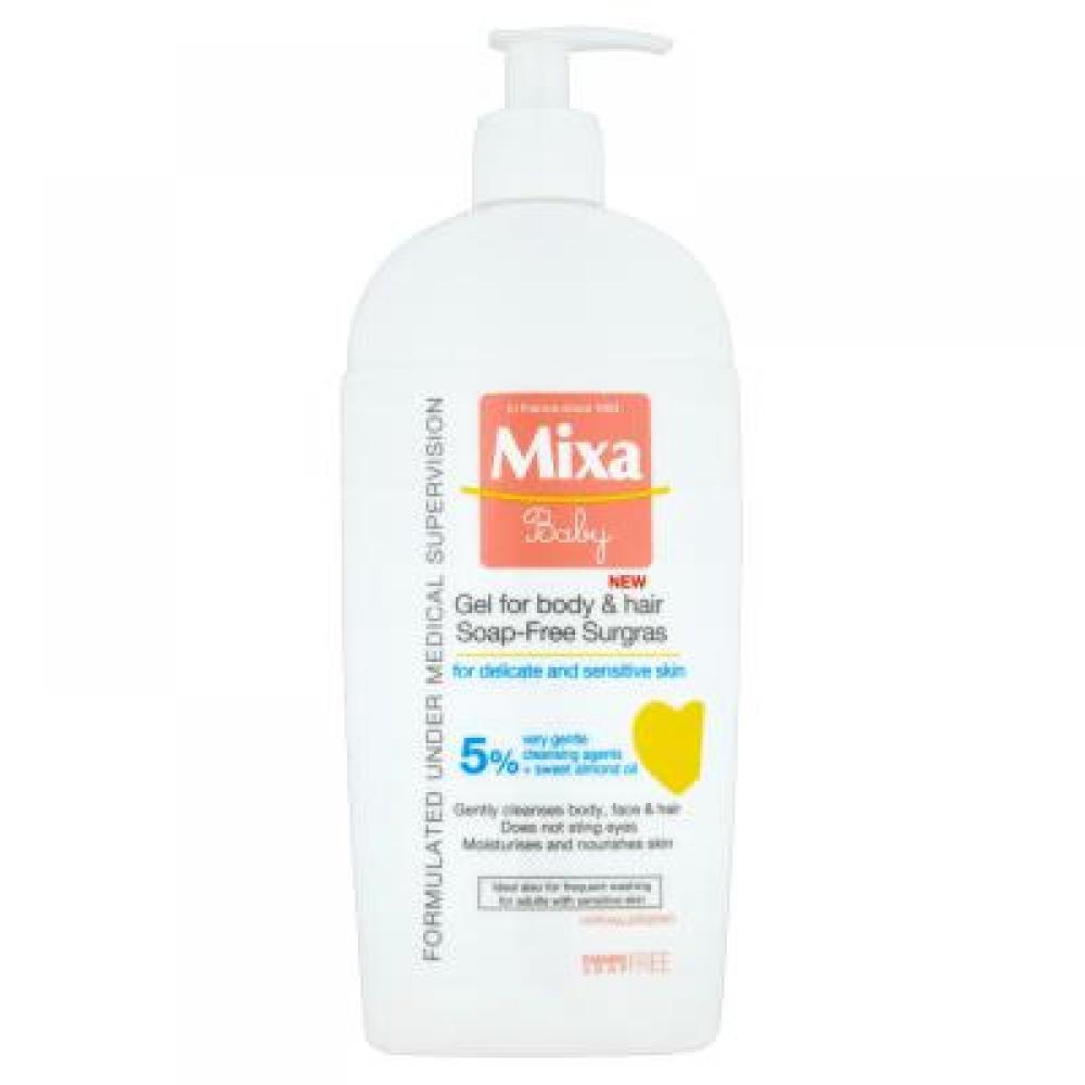 MIXA Baby gel 2v1 400 ml