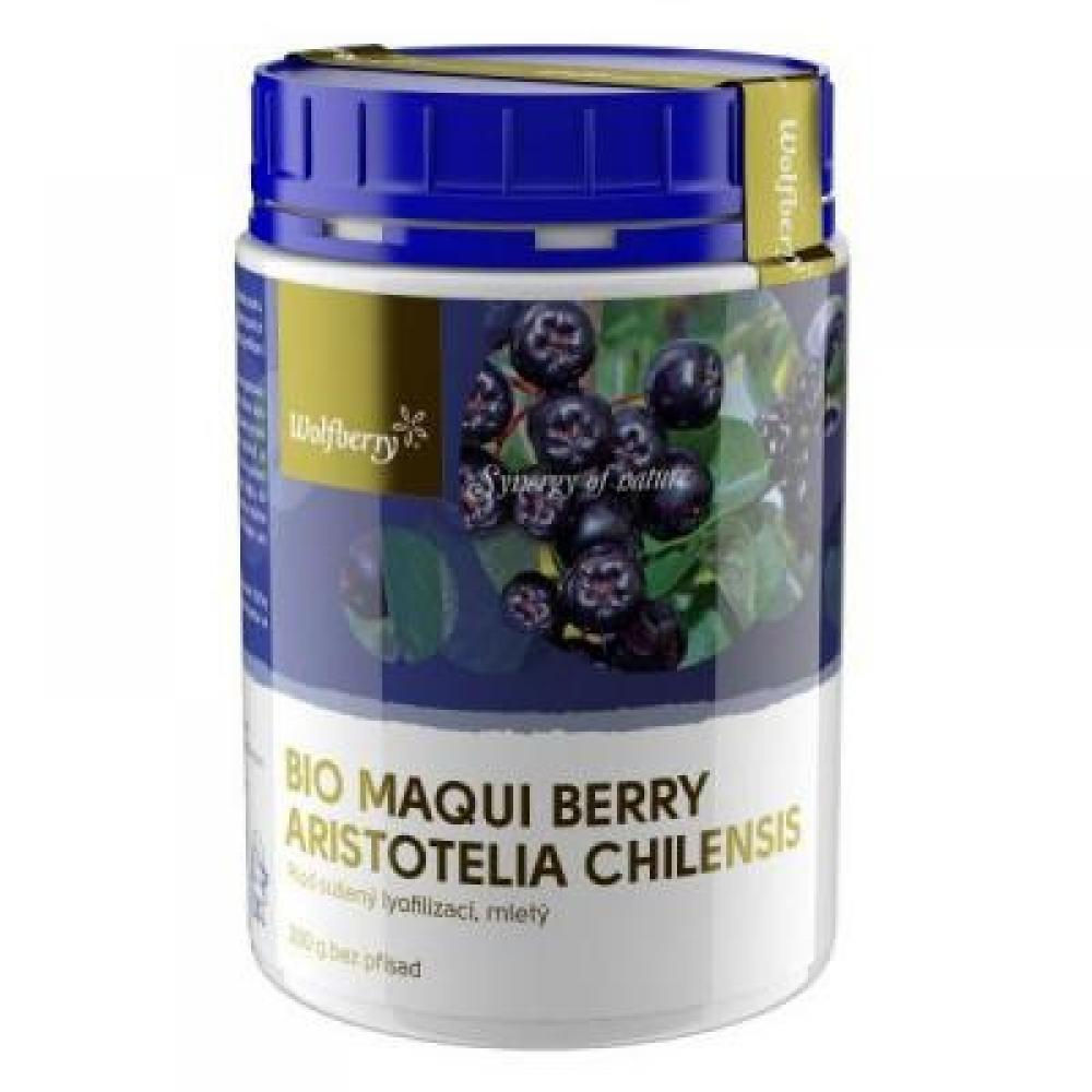 WOLFBERRY Maqui berry prášek BIO 200 g