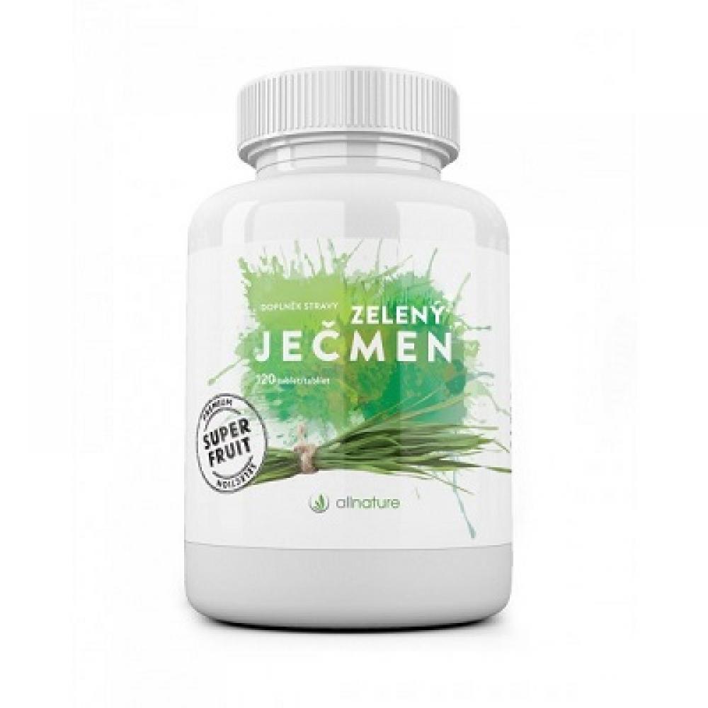 ALLNATURE Zelený ječmen tablety 120 tablet