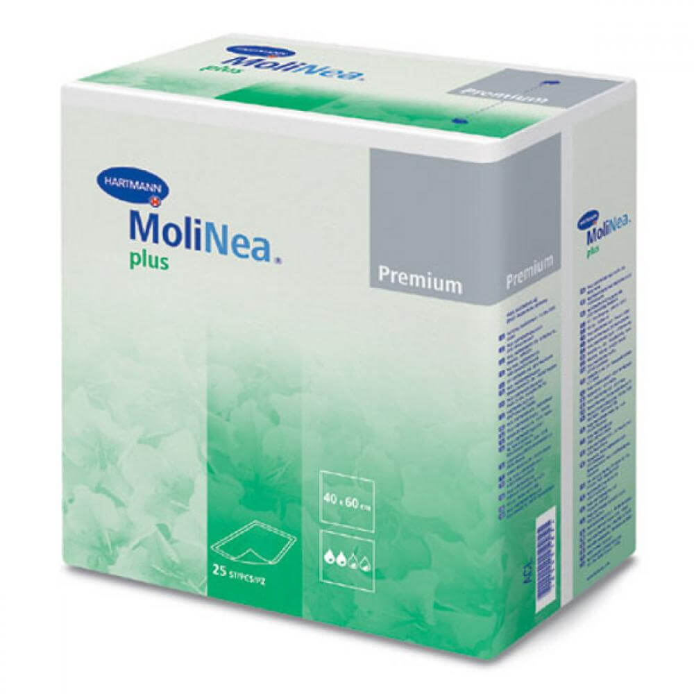 Inkontinenční podložka Molinea Plus 40 x 60 / 25 ks