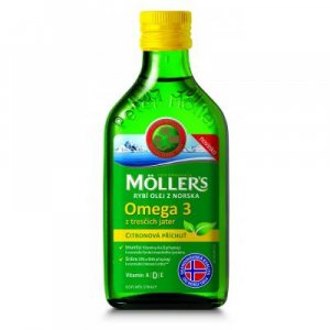 MÖLLER´S Omega 3 Citron 250 ml