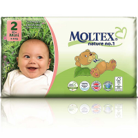 MOLTEX Nature No.1 Mini 3-6kg  42 ks