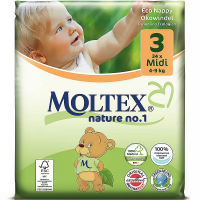 MOLTEX Nature No. Midi 4-9kg  34 ks