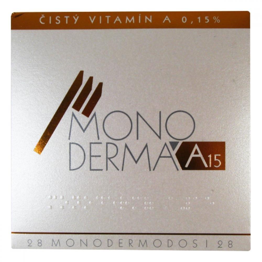 Monodermá A15 Čistý vitamín A 15% 28 ampulí