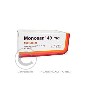 MONOSAN 40 MG  100X40MG Tablety