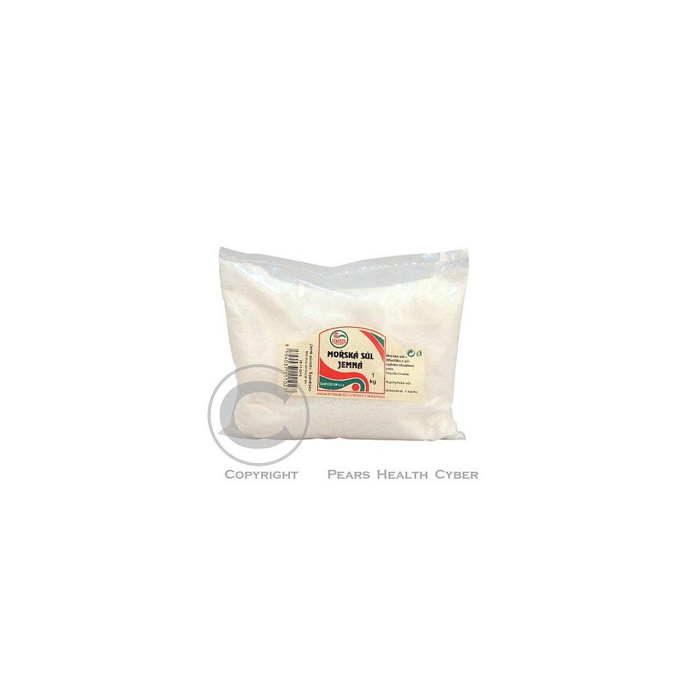 Mořská sůl jemná 1 kg