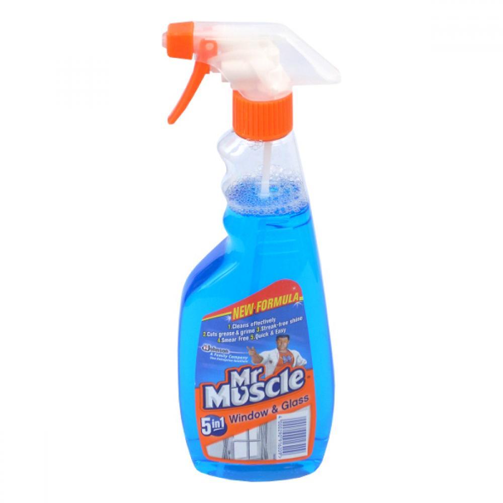 Mr muscle čistič oken s mr, 500ml (modrý)