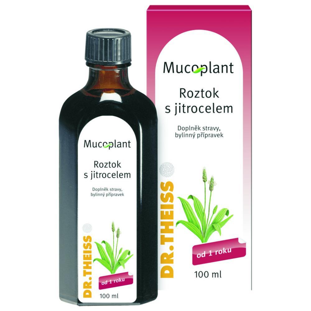 Mucoplant jitrocelový sirup bez cukru + echinacea 100 ml