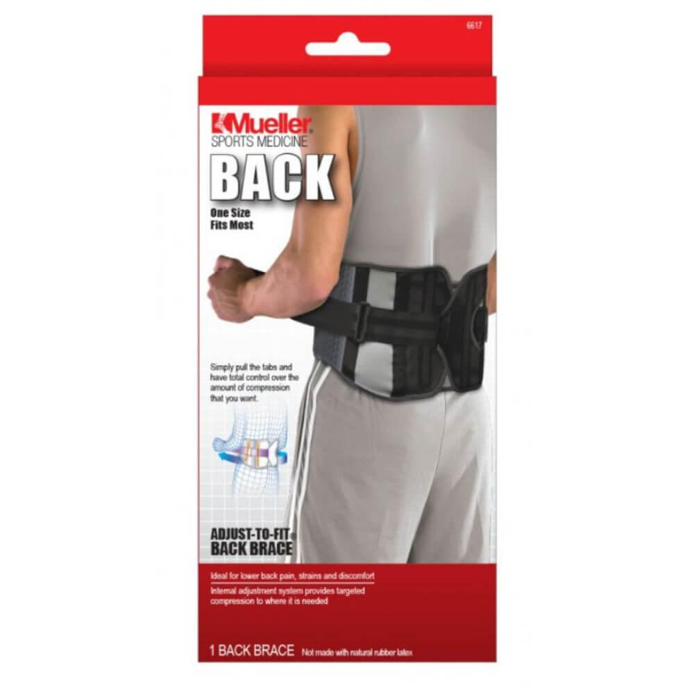 MUELLER Adjust-to-fit Back Support Bederní pás 1 kus - Lékárna.cz 2806466473