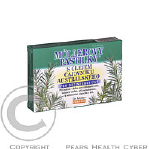 Müllerovy pastilky s Tee Tree Oil 12 ks