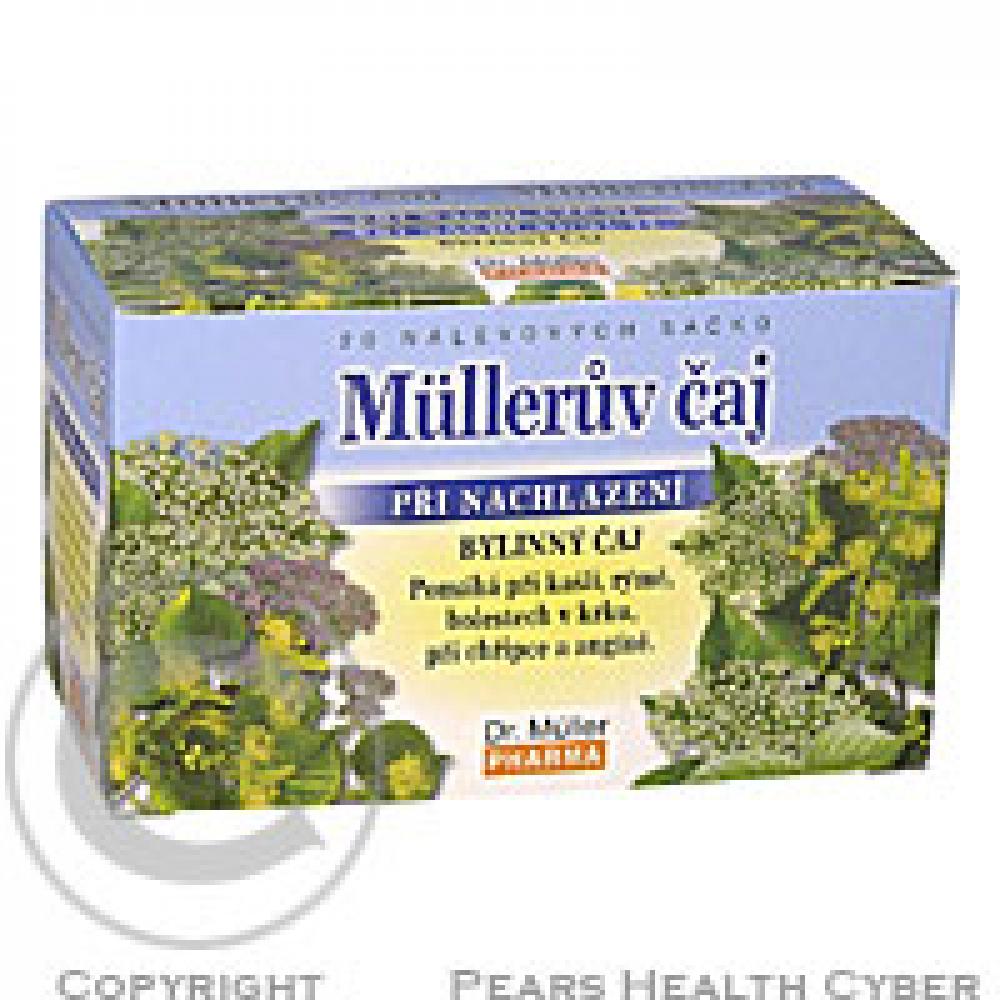 Müllerův čaj s květy černého bezu a lípy n.s.20x1.5g