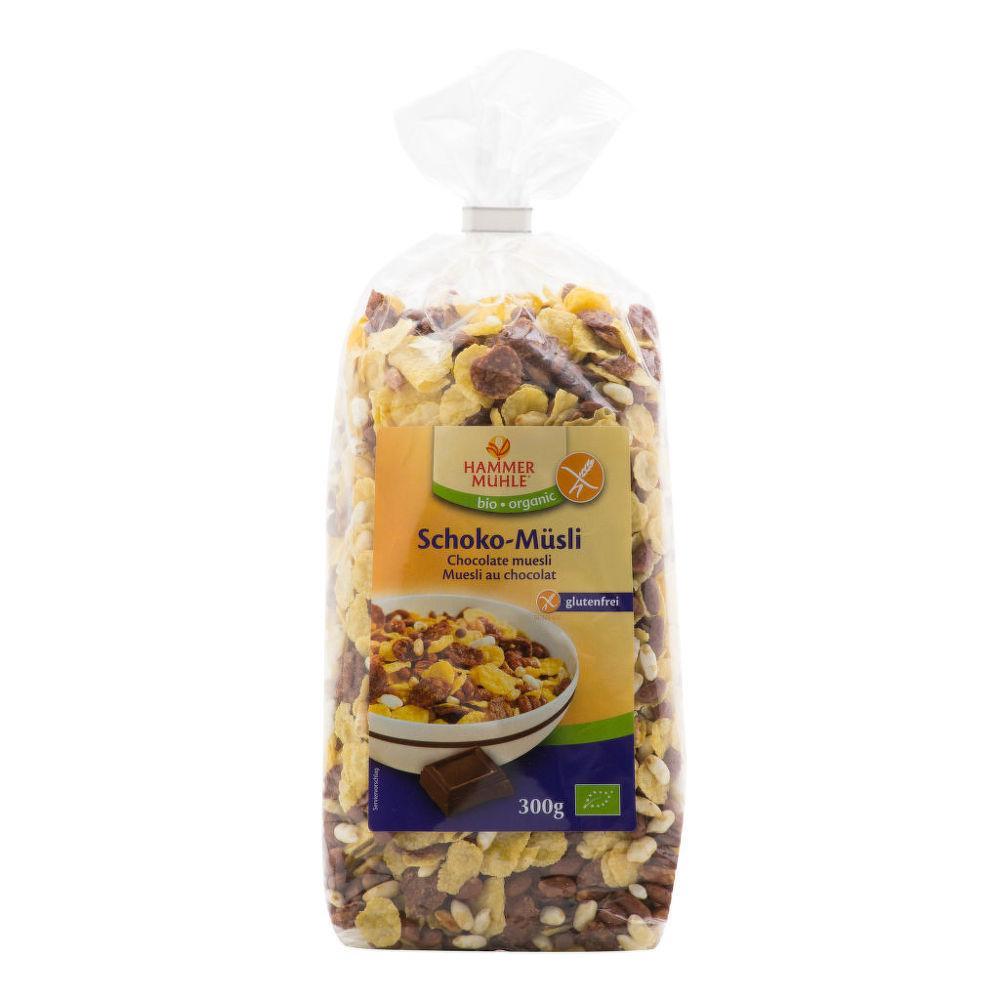 HAMMER MÜHLE Müsli čokoládové bezlepkové 300 g