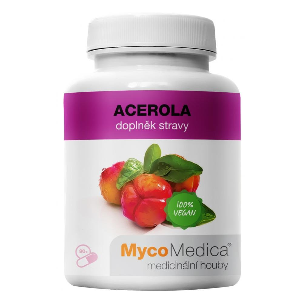 MYCOMEDICA Acerola 90 rostlinných vegan kapslí
