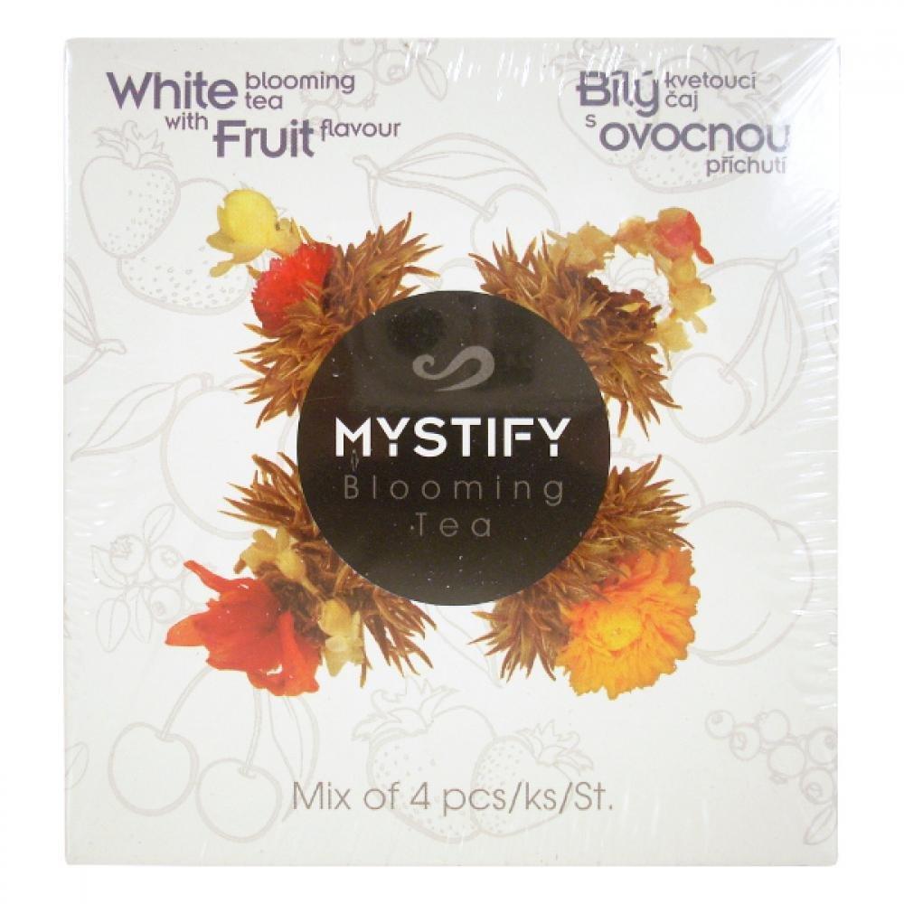MYSTIFY Bílý kvetoucí čaj ovocný 4ks MIX
