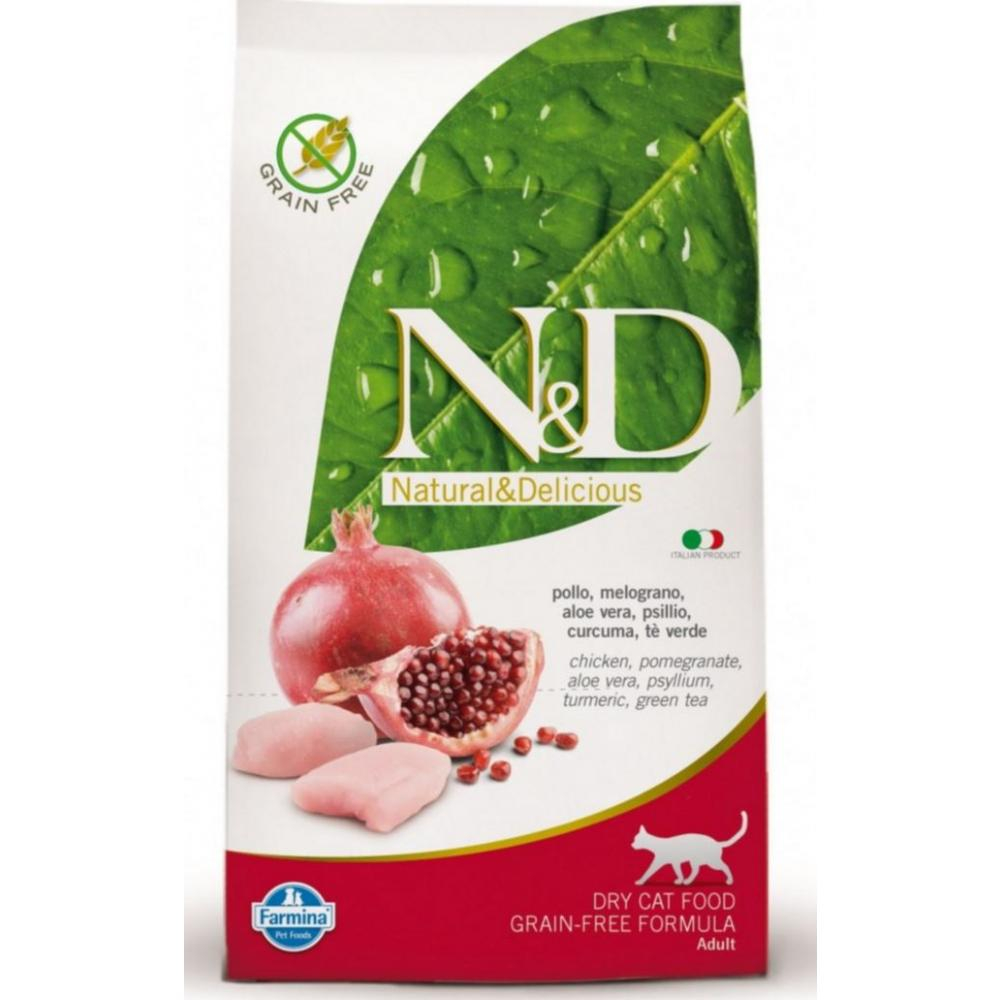 N&D CAT Adult Chicken & Pomegranate 1,5kg