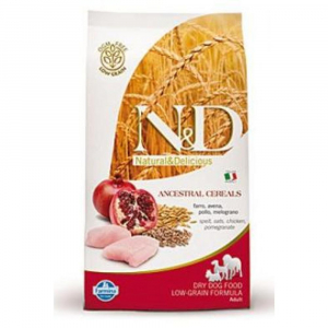 N&D DOG Puppy S/M Chicken & Pomegranate 800g