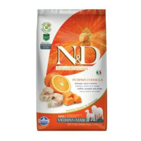 N&D GF Pumpkin DOG Adult M/L Codfish & Orange 2,5 kg