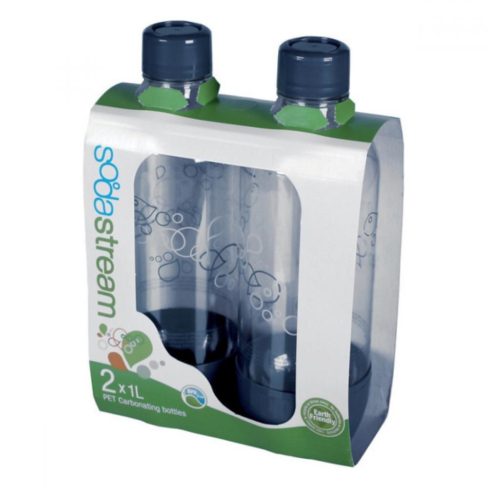SODASTREAM Náhradní lahev na sodu Duo Pack Grey 1 litr