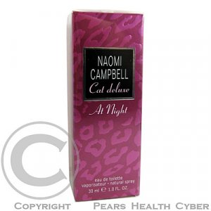 Naomi Campbell Cat Deluxe at Night Toaletní voda 30ml