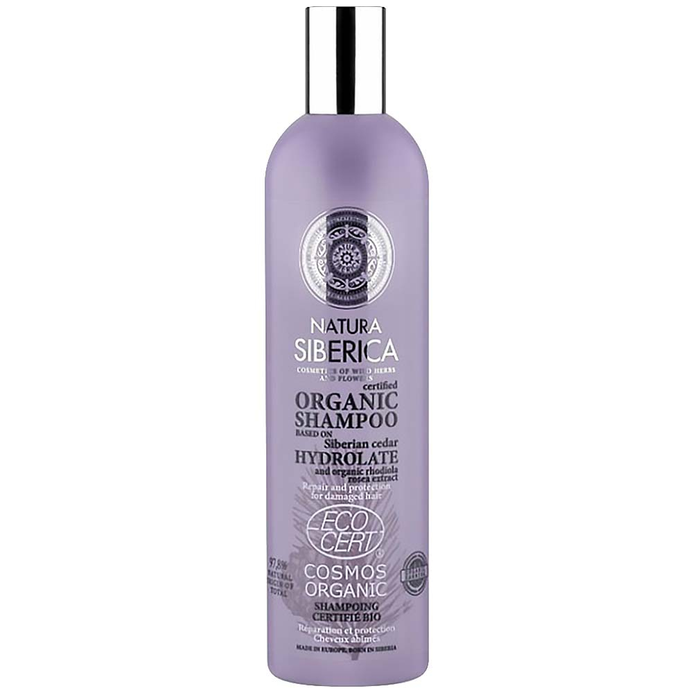 NATURA SIBERICA Šampon pro poškozené vlasy Regenerace a ochrana 400 ml