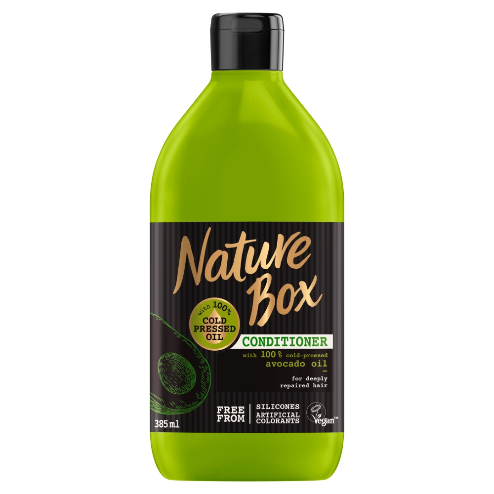 NATURE BOX Balzám na vlasy Avocado 385 ml