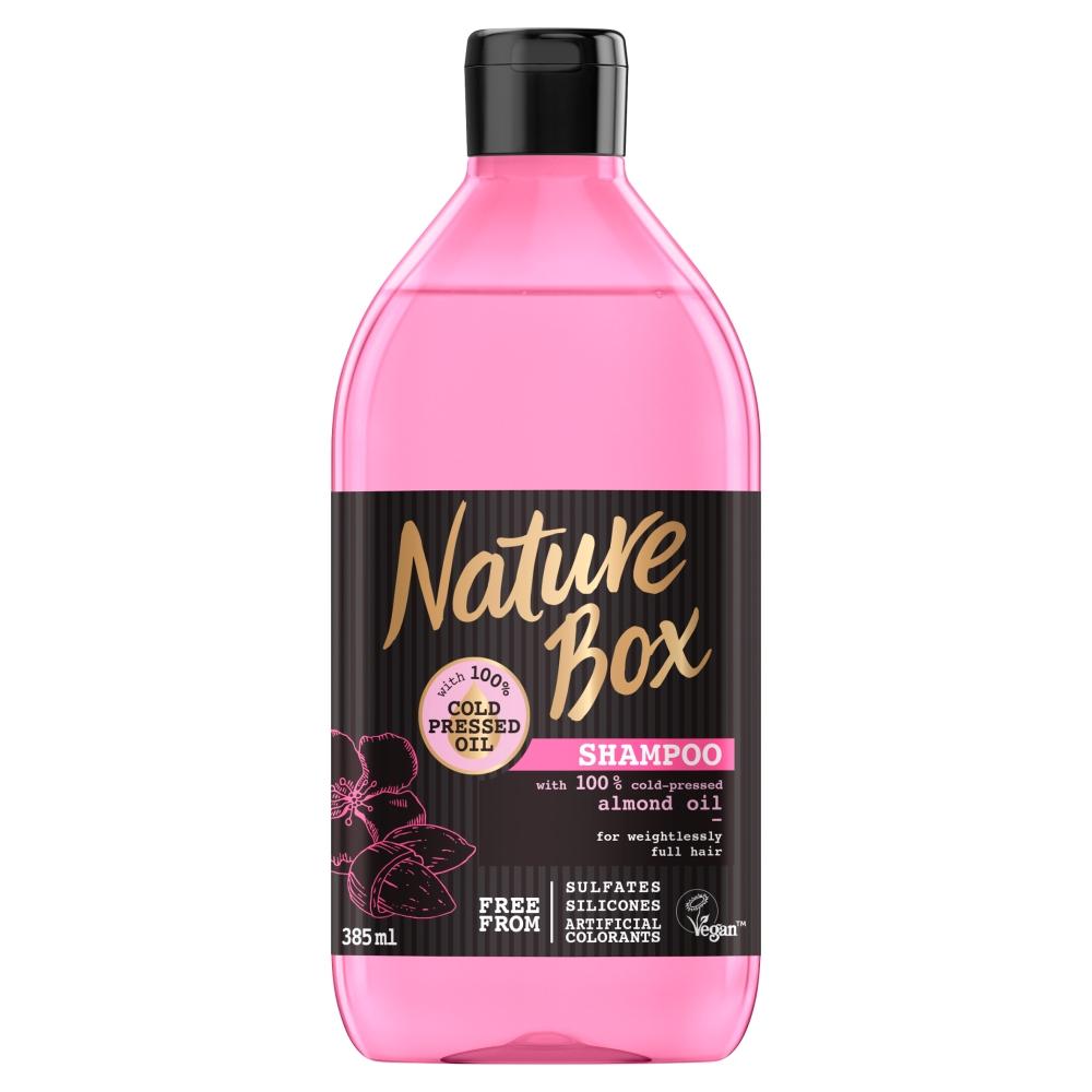 NATURE BOX Šampon na vlasy Almond 385 ml