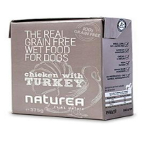 NATUREA GF dog vlhké - Chicken, Turkey 375 g
