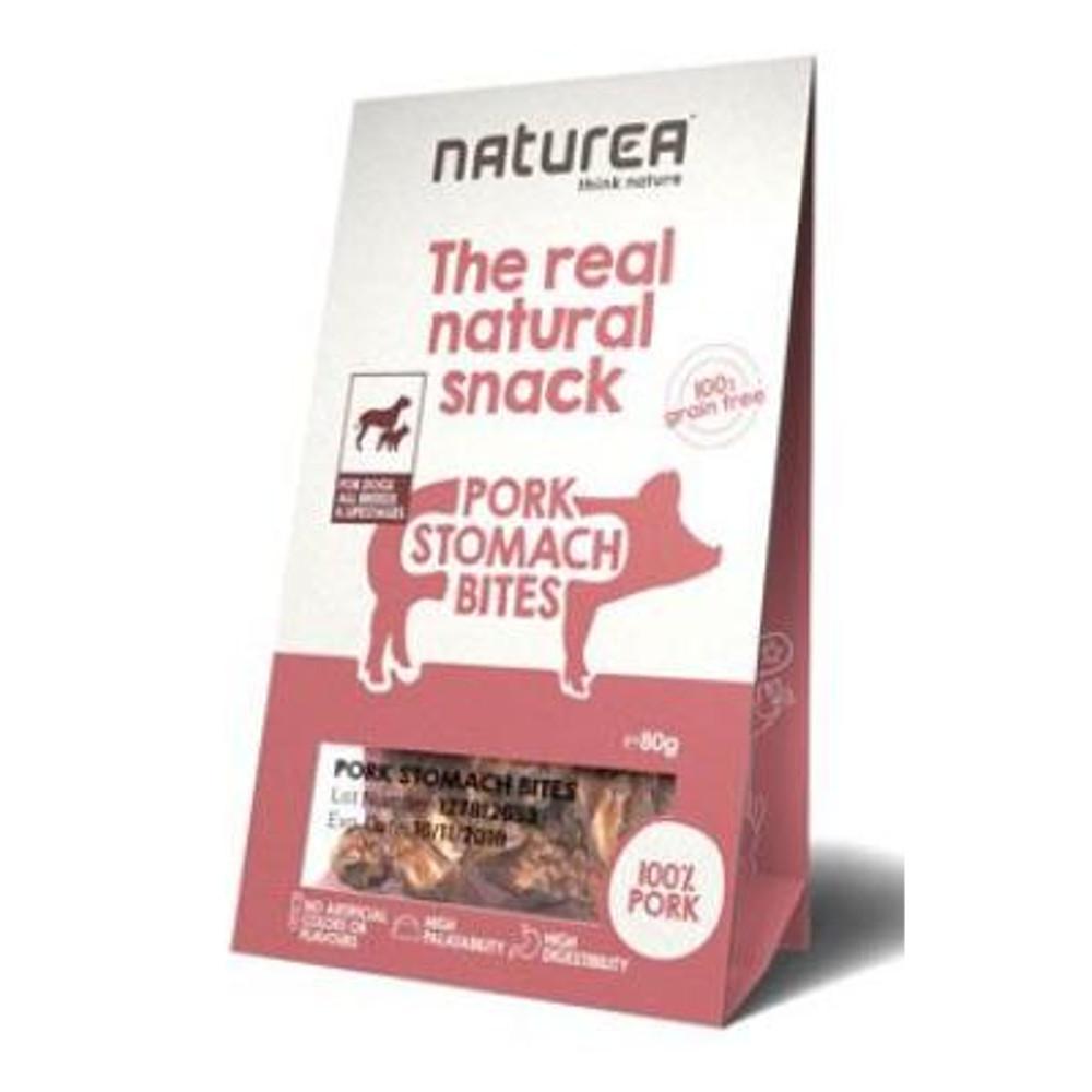 NATUREA pamlsky Natural snack pes vepřové žaludky 80 g