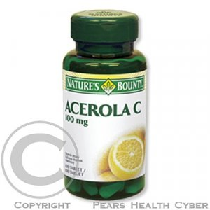 Nature's Bounty Acerola C tbl.100x100mg