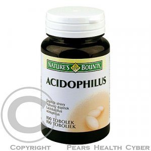 Nature's Bounty Acidophilus tob. 100
