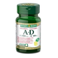 NATURE'S BOUNTY Vitamin A+D 5000/400m.j. 100 tablet