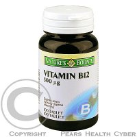 NATURE´S BOUNTY Vitamin B12  500 mcg 100 tablet