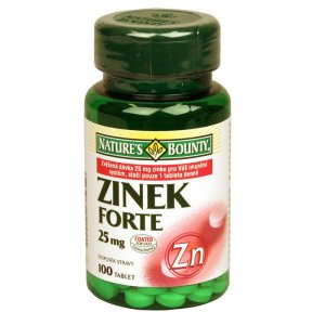 NATURE'S BOUNTY Zinek 25 mg 100 tablet