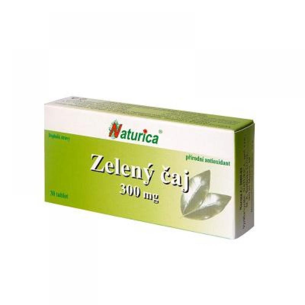 NATURICA Zelený čaj 300 mg 30 tablet