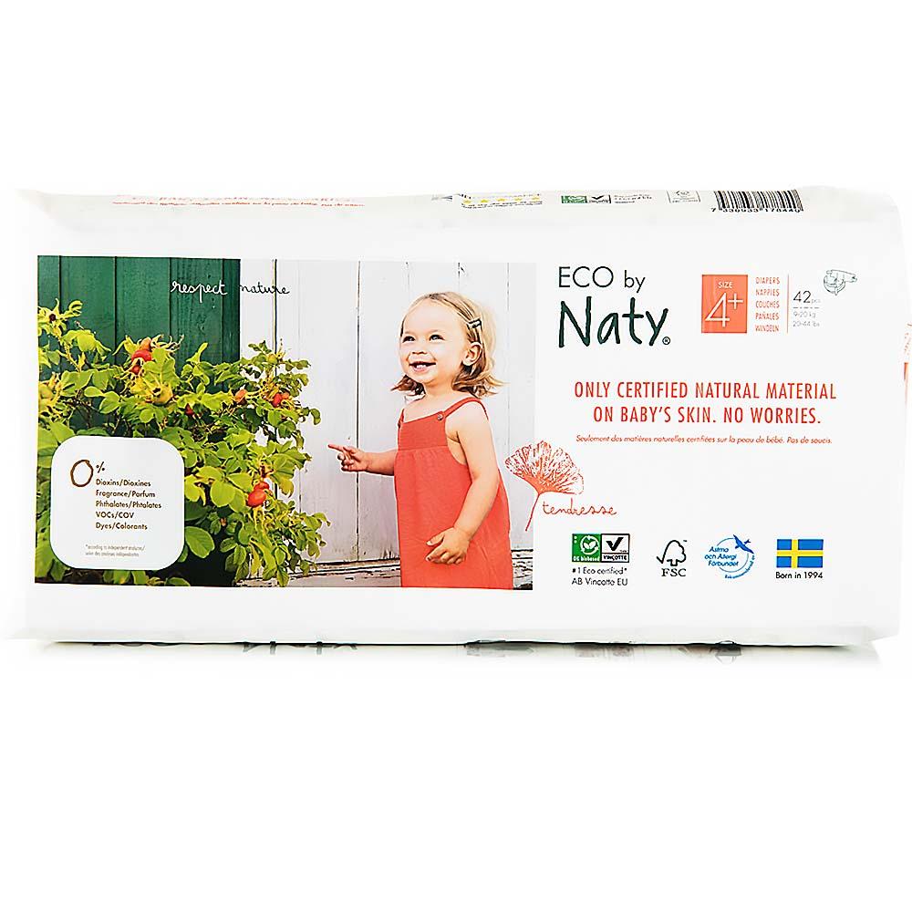 NATY Plenky Maxi+ 9-20 kg ECONOMY PACK 42 ks