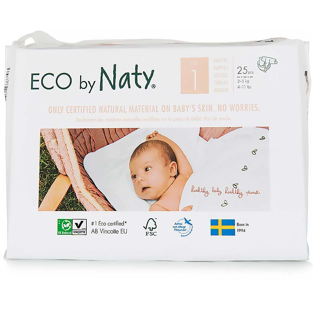 NATY Plenky Newborn 2 - 5 kg 25 ks