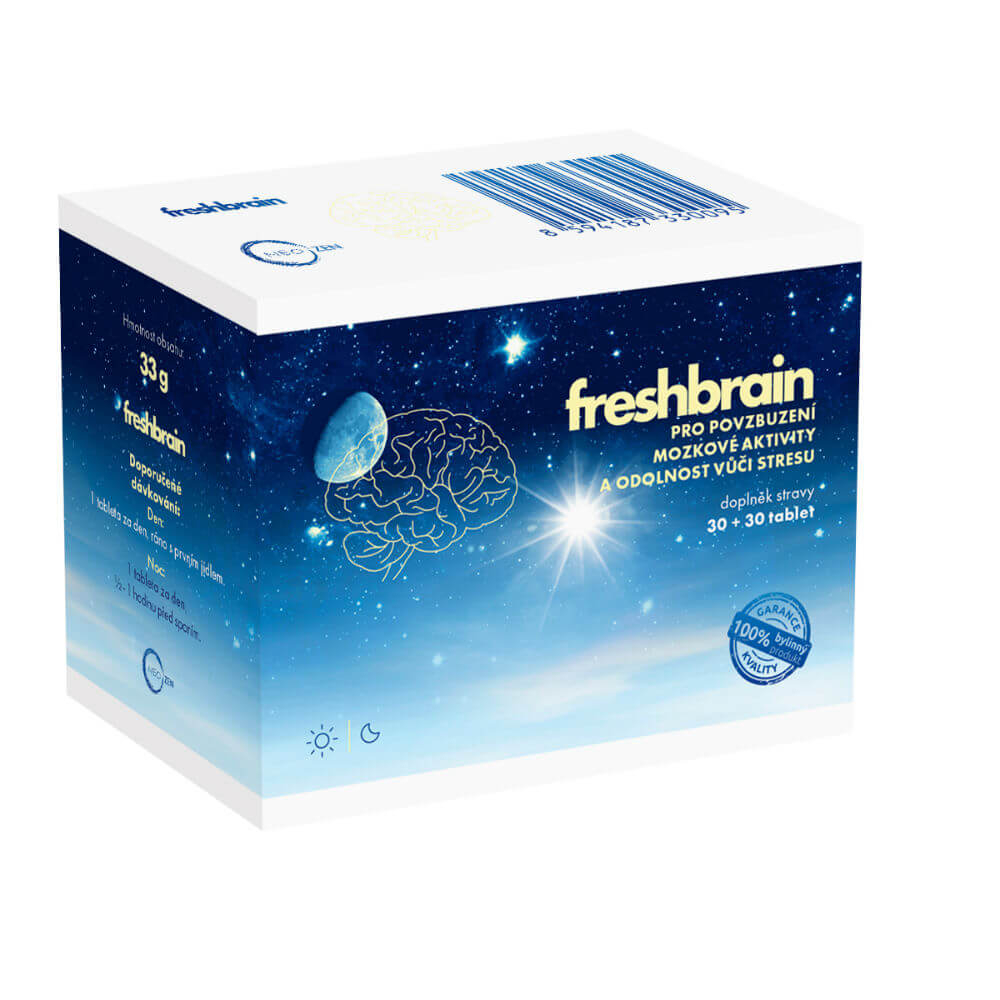 NEOZEN Freshbrain povzbuzení mozkové aktivity 30+30 tablet