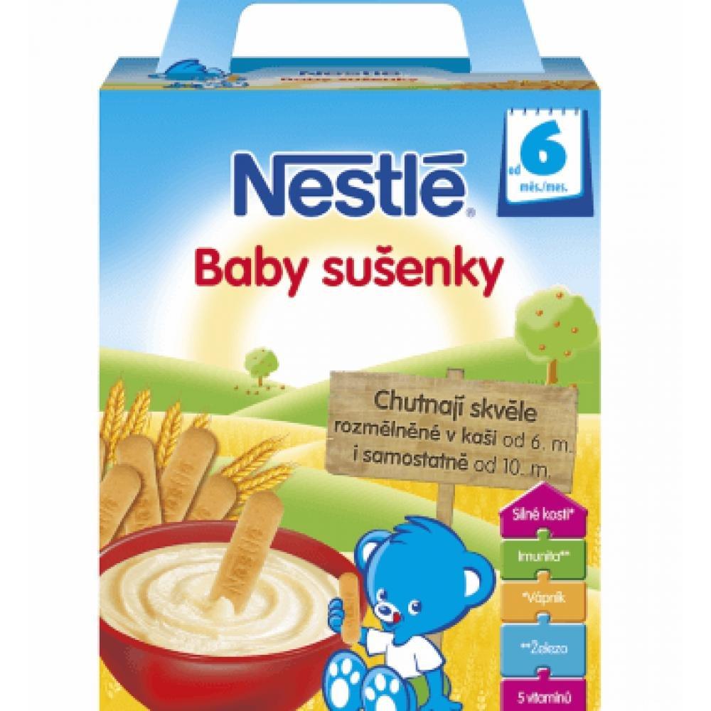 NESTLÉ Baby sušenky 2x90 g
