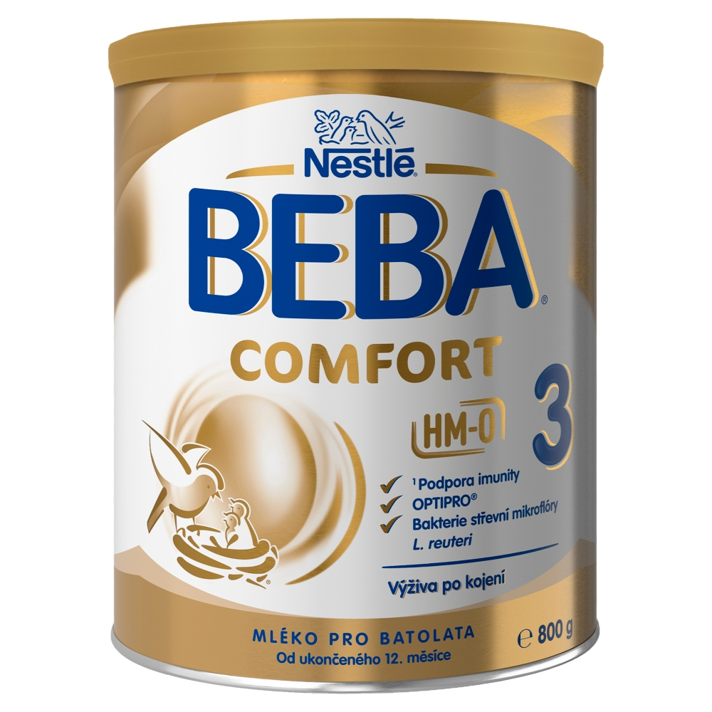 NESTLÉ BEBA Comfort 3 Pokračovací mléko od ukončeného 12. měsíce 800 g
