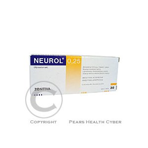 NEUROL 0,25  30X0.25MG Tablety