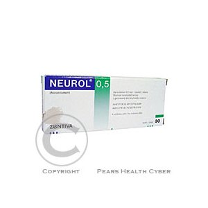 NEUROL 0,5  30X0.5MG Tablety