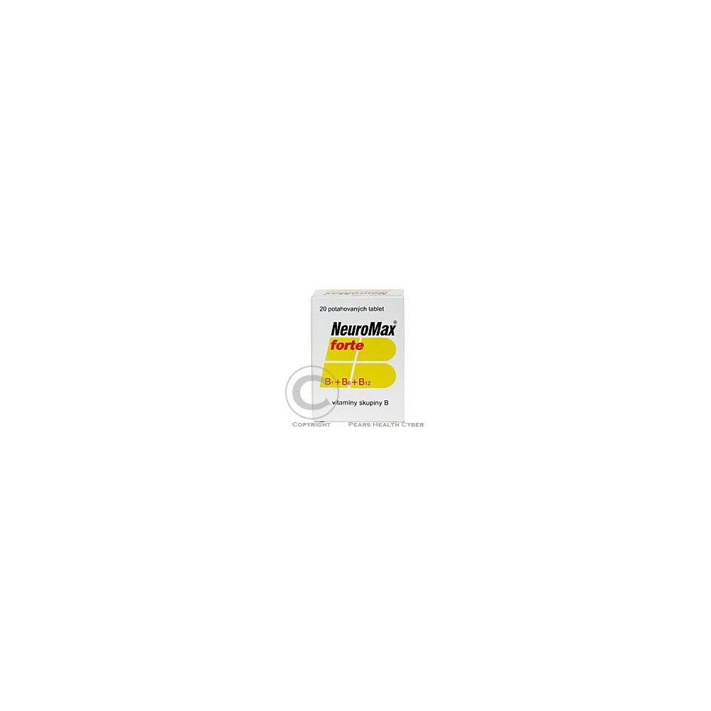 NEUROMAX FORTE 20 Potahované tablety