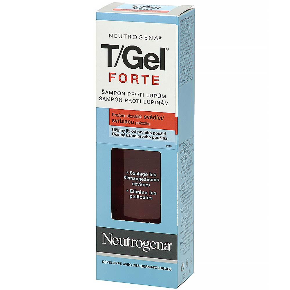 NEUTROGENA T/GEL Forte šampón 125 ml