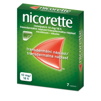 NICORETTE Invisipatch 10 mg/16h náplast 7x10 mg