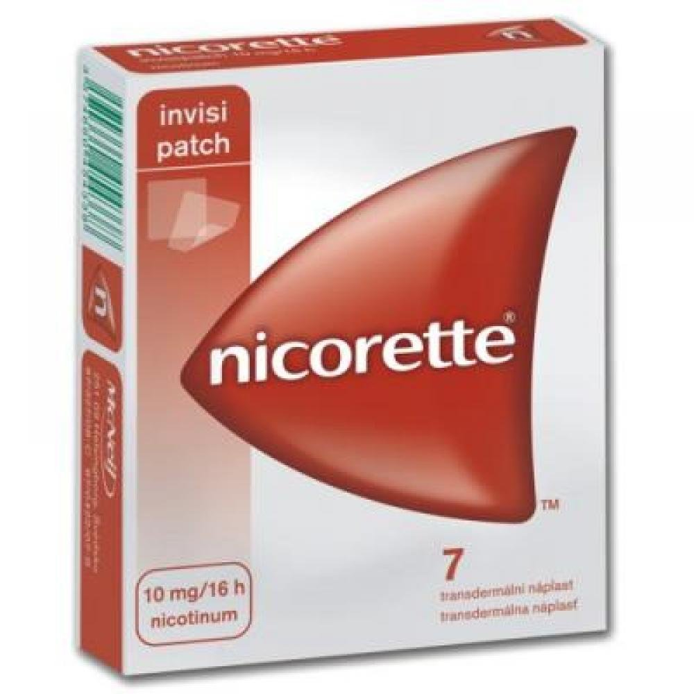 NICORETTE INVISIPATCH 10 MG/16 H 7X10MG Náplast